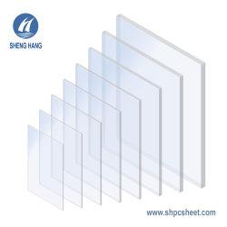 Уф блокирование пластиковый лист очистить стекло из поликарбоната
