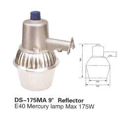 """El anochecer al amanecer Faro NEMA (DS-175mA-9""""-reflector) E40 Lámpara de mercurio Max 175W"""