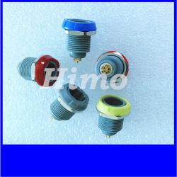 Connettore della plastica di Pin Lemo di serie 3 del PAG Pkg Prg P