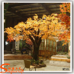 China Manufacturer Artificial Maple Tree Dry Tree für Garten Decoration