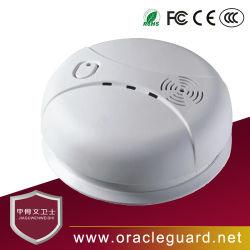 Jgw-119Y&filaire sans fil utilisé indépendamment construit-détecteur de fumée dans l'alarme sonore