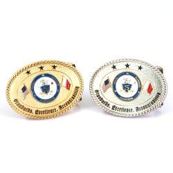 Fabrication de tourner en alliage de personnaliser l'axe de 35mm Pièces en rotation réversible Boucles de ceinture (courroie-04)