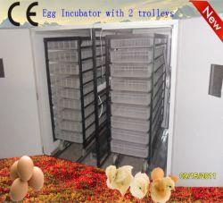 El modelo grande dos carro completamente automática de huevo de gallina incubadora (YZITE-25)
