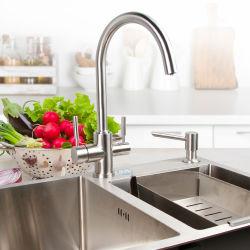 المطبخ ساخنة وباردة الحنفية فلتر المياه من الفولاذ المقاوم للصدأ الحنفية الحنفية