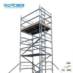 Móveis de aço do prédio de construção fase de oscilação do preço do alumínio do sistema da estrutura de andaimes de torre