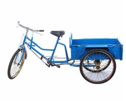 سيارة مسنة فرامل مزدوجة دواسة الإنسان الدراجة الثلاثية العجلات