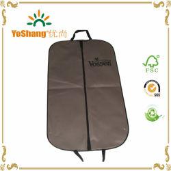 卸し売りCheap Foldable Long Wedding Dress Non Woven Garment Bag、DryのためのSuit Cover