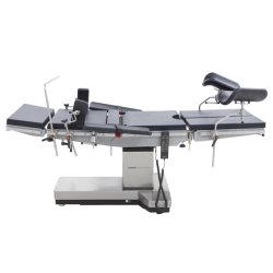 A cirurgia de aço inoxidável de Equipamentos Médicos Elétricos Cirúrgica de cama mesa de operação mecânica para o hospital com marcação CE
