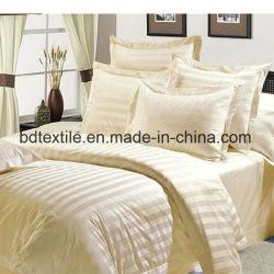 100 % polyester Tissu Hôtel Feuille de literie pour l'hôtel ou un hôpital