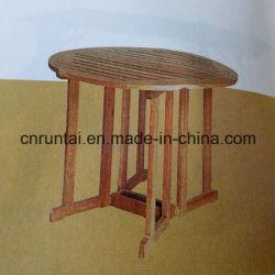 고품질 인기 유틸리티 목재 둥근 테이블