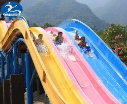 2020 Nouvelle Fibre de verre aquatiques Racing Rainbow glissoire d'eau Amusement Park