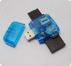 Umweltfreundlicher nützlicher blauer multi Mikro Ableiter-Kartenleser