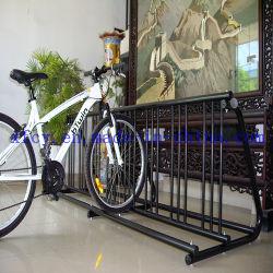 고용량 바닥 장착형 양면 주차 자전거 랙