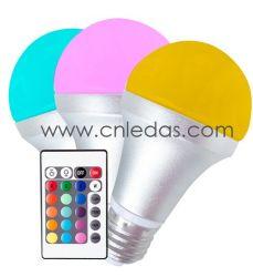 색깔 변화 그리고 원격 제어 기능을%s 가진 4W LED 전구