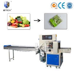 Alimentazione automatica frutta fresca/verdure/biscotti/biscotti/cioccolato/tazza di torta/ghiaccio Possicolo/pane confezionamento confezionamento confezionamento a flusso Macchina per imballaggio