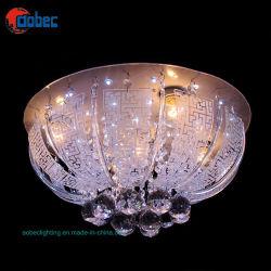 Nouveau design lustre en cristal de la lampe de plafond/lumière avec LED