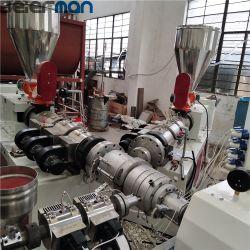 50-200mm 라인 3개의 층 PVC/UPVC 관 Co-Extrusion 판매를 위한 주식에 있는 선 3개의 층 PVC/UPVC 관 Prodcution