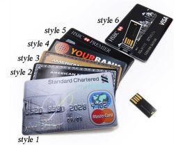 Лучший рекламный бизнес подарок кредитную карту флэш-накопитель USB 8 ГБ