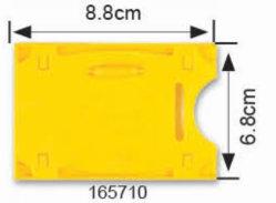 Nom de l'ID Porte-Badge PVC poche de la carte