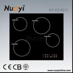 4 зоны приготовления индуктивные плитой с маркировкой CE, CB