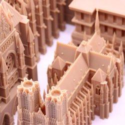 Bâtiment d'impression 3D'échelle de la maison modèle pour l'immobilier, modèle architectural de décisions
