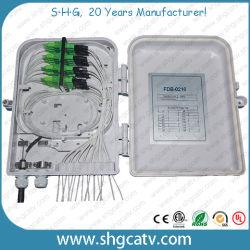 工場価格の熱い販売の低価格の無期限保証16のスプライスFTTHの光ファイバ配電箱(FDB-0216)