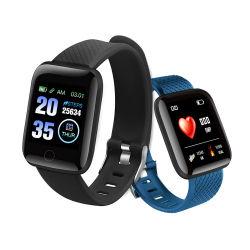 Relógio inteligente 116plus cinco cores relógio presente ABS e PC correia TPU Pulseira inteligente smartwatch