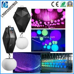 Светодиод кинетических лампа для проведения свадебных шарового шарнира подъемного 0-12м высоты