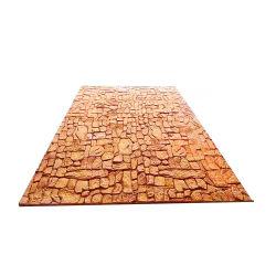 Diseño de mármol naturales al aire libre ignífuga piedra Flexible barniz