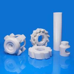 中国工場工業用高硬度 Yttria 安定化 Ystriz 超精密カスタム CNC 加工技術白色酸化ジルコニウム ZrO2 部品ジルコニアセラミック