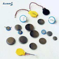 Batteria al litio CR2032 da 3,0 V, cella a bottone da 240 mAh per dispositivo di controllo remoto, macchina POS, misuratore di glucosio ematico, scheda madre per computer con marchio Lisun/OEM