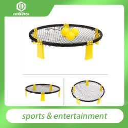 Spokeball PRO Set에는 더욱 강하고 안정적인 플레이넷이 포함되어 있으며, Spin, Backpack, Ball Pump용으로 설계된 업그레이드된 볼도 포함되어 있습니다