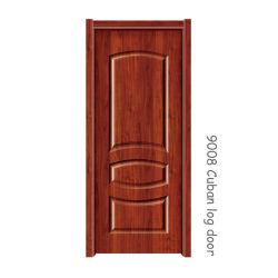 Pannello porta con rivestimento in colore cubano 05 Rosso 2150*920*3