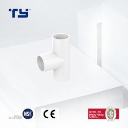 2020 Китая поставщиком Тройник ПВХ качество соединения с хорошим качеством пластиковый фитинг патрубка электрооборудования