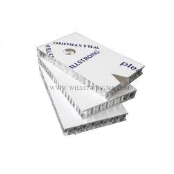 Painel de alumínio alveolado fachadas de revestimento de alumínio alveolado painéis do tipo sanduíche