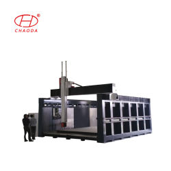CNCのルーター機械大きい木製に泡の彫刻の切り分けること