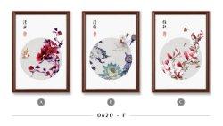 Custom Exquisite Flower Wall Painting Slaapkamer Decoratie inkt Painting