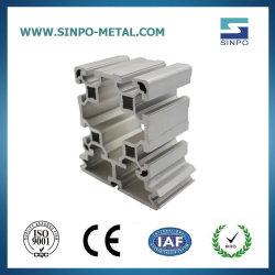 L'aluminium Al6063-T5/T6 AL6063A-T5/T6 T l'emplacement des matériaux de construction de la construction de profil d'Extrusion