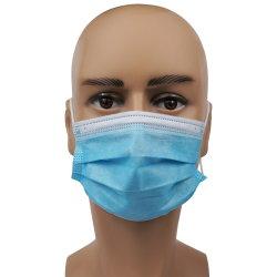 заводская цена 3 слоев маску для лица одноразовые маску для лица гражданской и протоколы испытаний на складе маска оптовой защитную маску синий цвет оптовая торговля