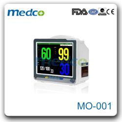 Equipo de Hospital portátil de 12 pulgadas Monitor de Paciente Multi-Parameter