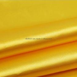 На заводе оптовые дешевые гладкими и блестящими полиэстер атласный шелк