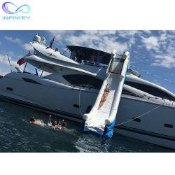 Trasparenza di acqua gonfiabile calda di alta qualità per la trasparenza sigillata commerciale gonfiabile dell'yacht dell'acqua della trasparenza di acqua dell'yacht del PVC della barca 0.9mm