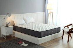 فراش السرير ذو الأثاث المنزلي فراش من نوع كوين مع رغوة الربيع للجيب في صندوق من المصنع الصيني