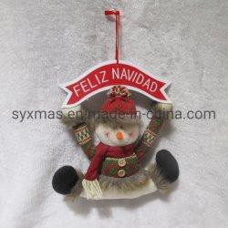 De in het groot Giften van Kerstmis van de Decoratie van het Huis van het Speelgoed van het Ornament van de Deur van Kerstmis