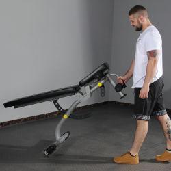 Precio barato Body building ejercicio Peso Peso ajustable Bench bench