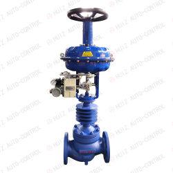 Wcb/SS304 Polegada 4 Controle de Alta Temperatura / Válvula de regulação