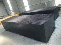 Powergrid gradeamento de plástico reforçado com fibra de vidro moldado translúcido piso Plataforma Plástica Curta