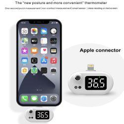 A temperatura do corpo do instrumento de medição para iPhone e Android, Tipo C Smart Phone Easy-Caring Mini USB Mobile Termómetro de Telefone