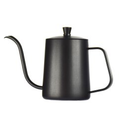 Beccuccio a collo di coca EcoCoffee gocciolamento mani in acciaio inox versare sul caffè Bollitore con termometro 600ml Teapot da cucina casalinghi