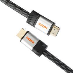 Câble HDMI plaqué or, prend en charge 1080p, 4*2K, 3D HDMI